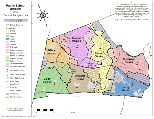 Map Library Town Of Arlington - Ma map