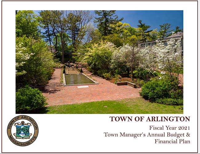 Click here to view the Town Manager's FY2021 Financial Plan
