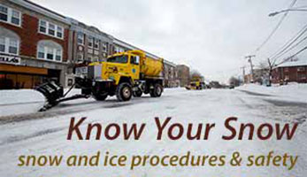 Click here for information about snow and ice procedures and safety