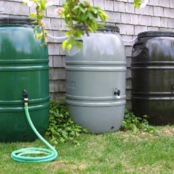 Rain barrels for sale through May 7, 2015