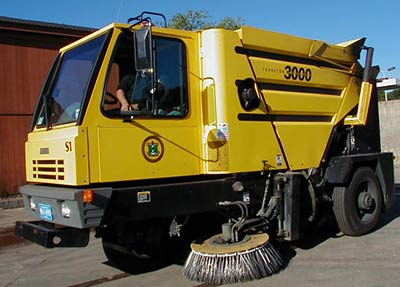 Arlington DPW Street Sweeper