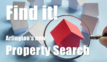 Find it in Arlington's new Property Search