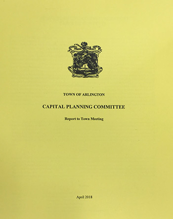 Click here to read Capital Planning Committee Reports to Town Meeting