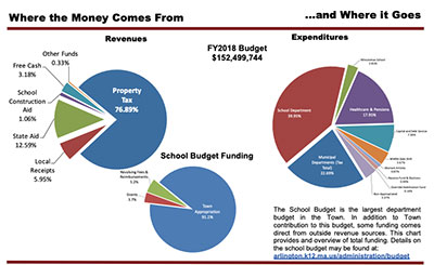 Pie Charts from Public Annual Financial Report