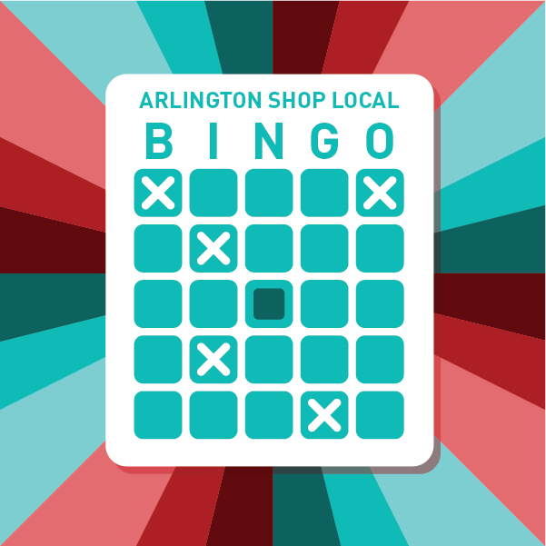 Arlington Shop Local Bingo Image