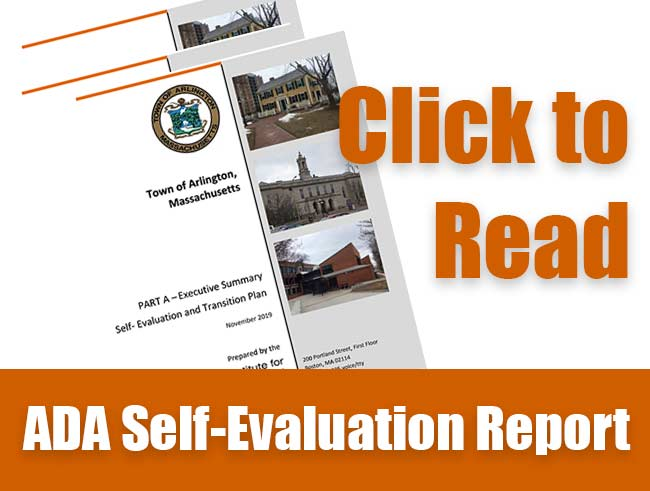 Click here to read Arlington's ADA Self-Evaluation Report