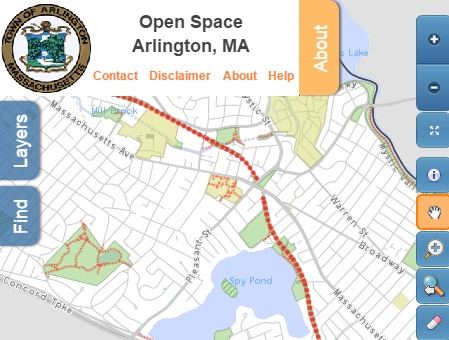 Parks, Recreation, and Open Space Map